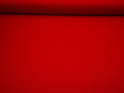 Látka s nešpinivou úpravou šíře 160 cm, oboustranná - červená