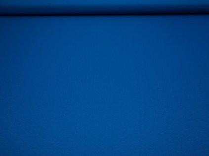 Látka s nešpinivou úpravou šíře 160 cm, oboustranná - modrá