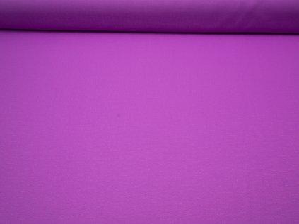 Látka s nešpinivou úpravou šíře 160 cm, oboustranná - fialová