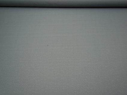Látka s nešpinivou úpravou šíře 160 cm, oboustranná - šedá