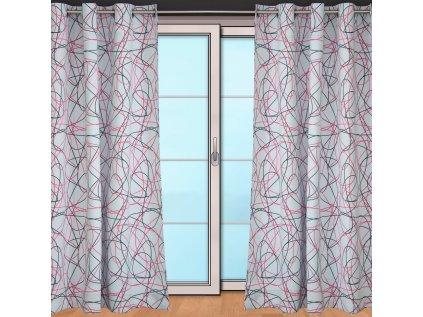 Black out čáranice růžové - AKCE - kus 0,80m