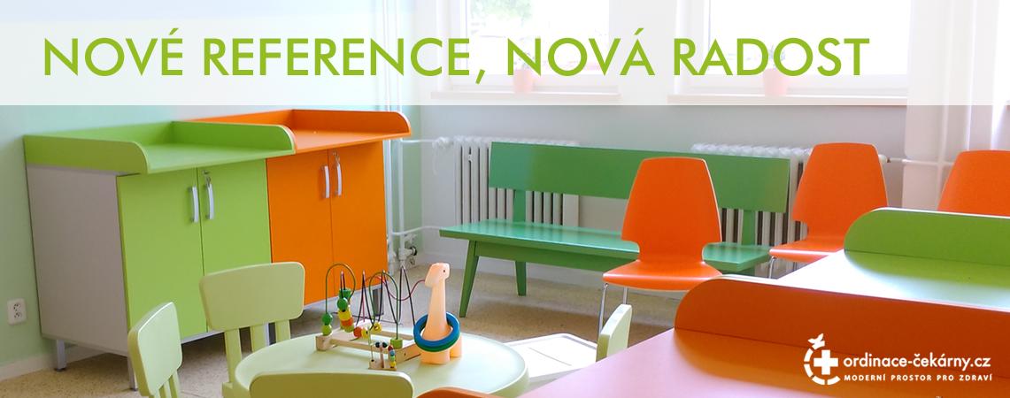 Zdravotnický nábytek - reference lékařského nábytku
