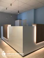 Výroba recepce, lékařský nábytek do ordinace