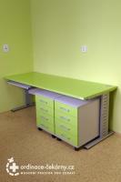 Lékařský nábytek | Kontejner ke stolu