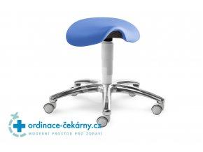 Sedlová stolička MEDI 1207 G (Barva sedáku ATLANTA - 26 T4, Typ koleček Měkká na tvrdé podlahy, Výška pístu Nižší píst, 46-59 cm)