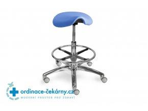 Sedlová stolička MEDI 1207 G Dent (Barva sedáku ATLANTA - 26 T4, Typ koleček Měkká na tvrdé podlahy)