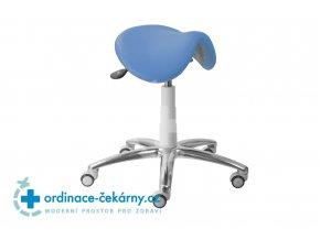 Sedlová stolička MEDI 1213 G (Barva sedáku ATLANTA - 26 T4, Typ koleček Měkká na tvrdé podlahy, Výška pístu Nižší píst, 46-59 cm)