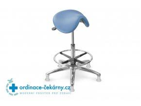 Sedlová stolička MEDI 1213 G Dent (Barva sedáku ATLANTA - 26 T4, Typ koleček Měkká na tvrdé podlahy)
