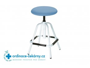 Zdravotnická vyšetřovací stolička MEDI 1202 (Barva sedáku ATLANTA - 26 T4)