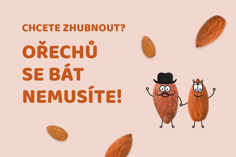 Chcete zhubnout? Ořechů se bát nemusíte!