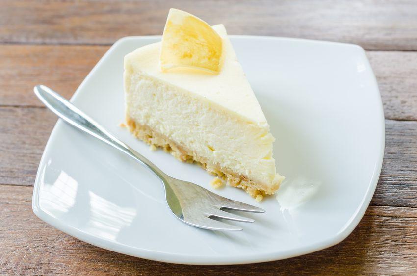 Tvarohový koláč zoříšků a ovesných vloček