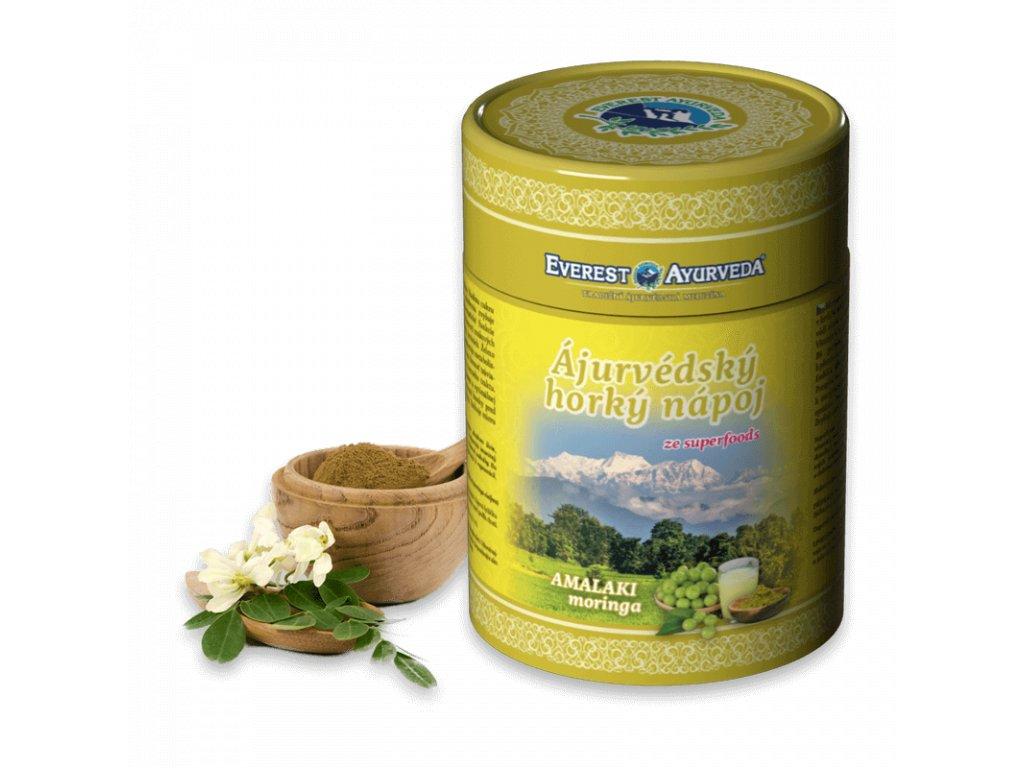 Everest Ayuverveda himalájský horký nápoj Amalaki + Moringa 100 g