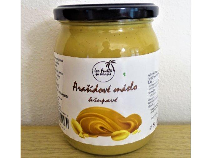 Arašídové máslo křupavé1