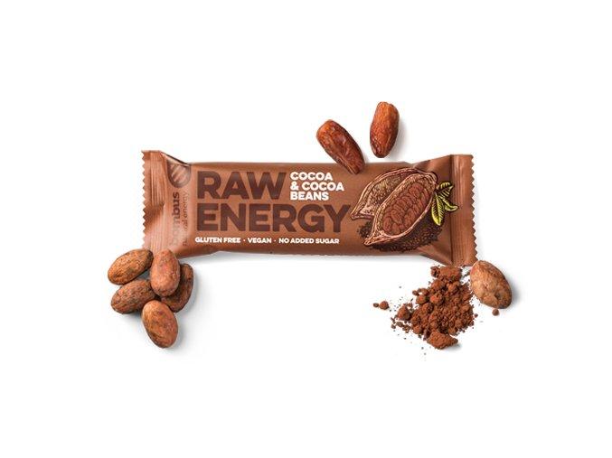 Tyčinka kakao a kakaové boby