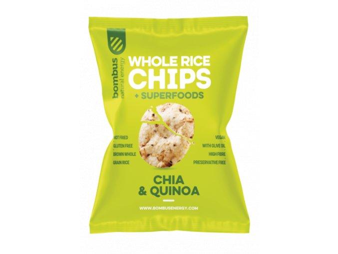Rice CHIPS zelené