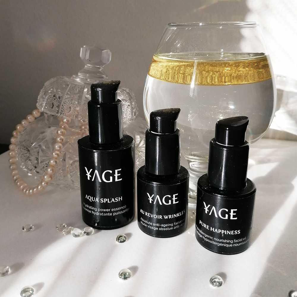 YAGE Hydratačná esencia + olej balíček