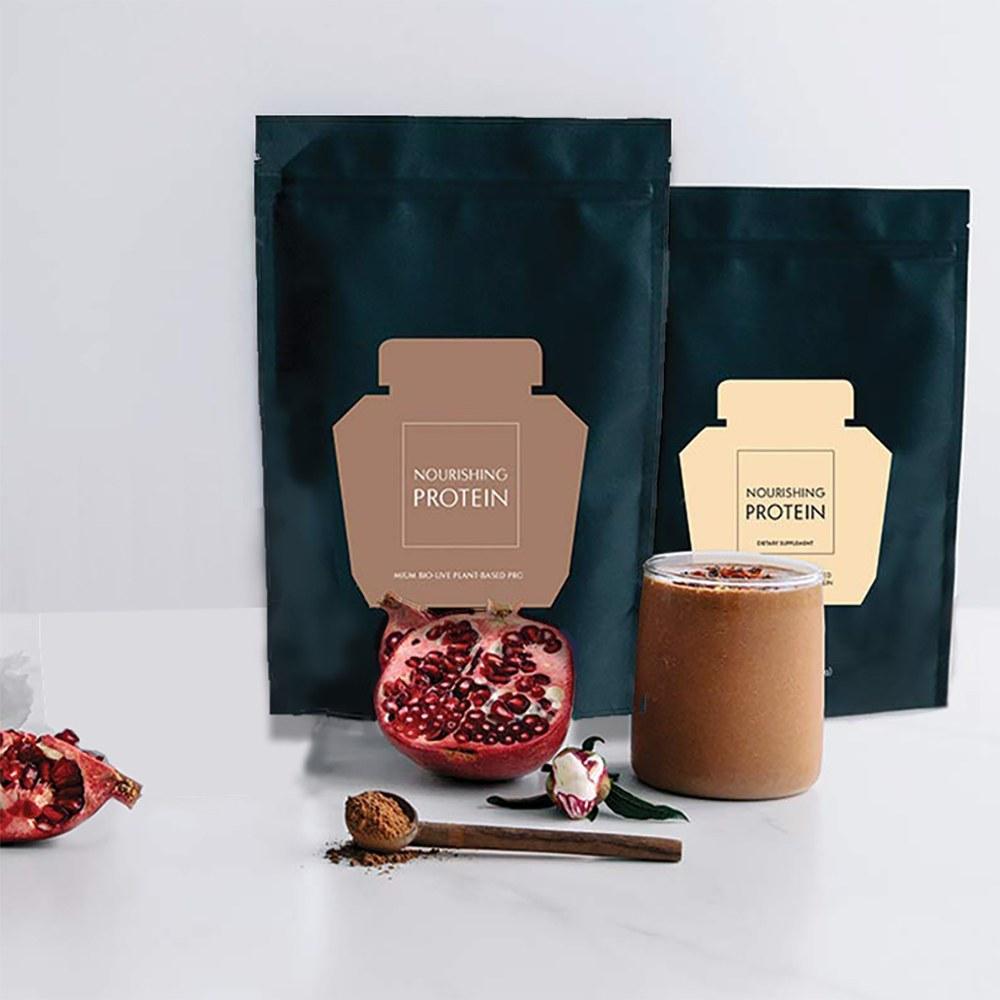 WELLECO Nourishing Protein 300g náplň Čokoladový a Vanilkový