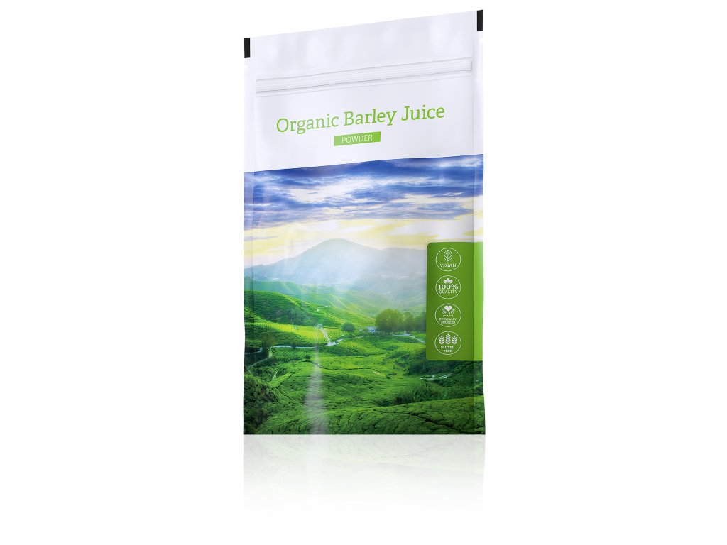 Organic Barley Juice powder 3D 300dpi