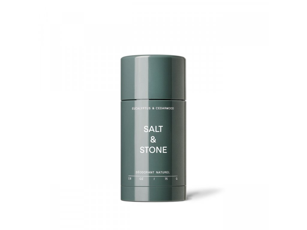 salt&stone deodorant eucalyptus cedrove drevo 1