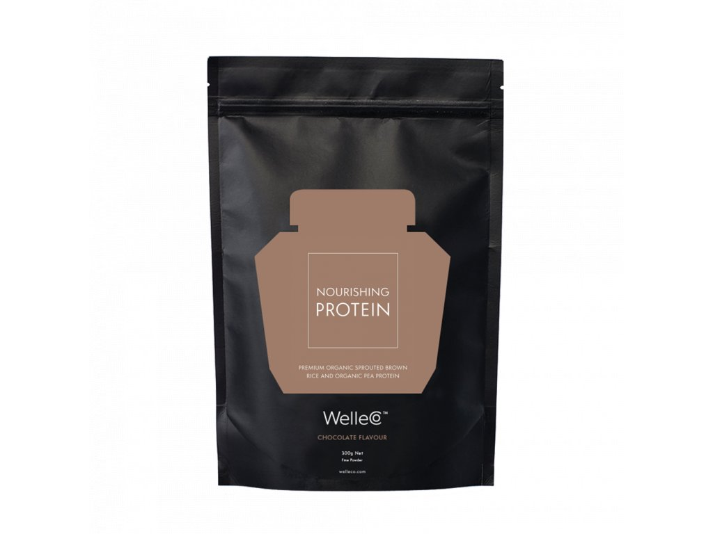 welleco elixirs protein nourishing protein chocolate 300g refill 01