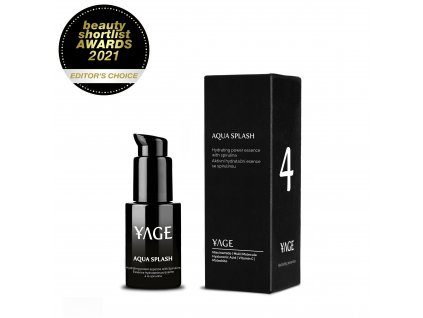 4 YAGE Aqua splash PP award