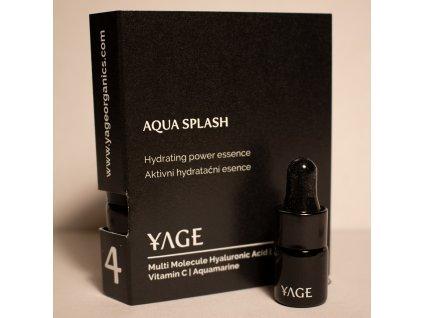 4 Aqua splash vzorka