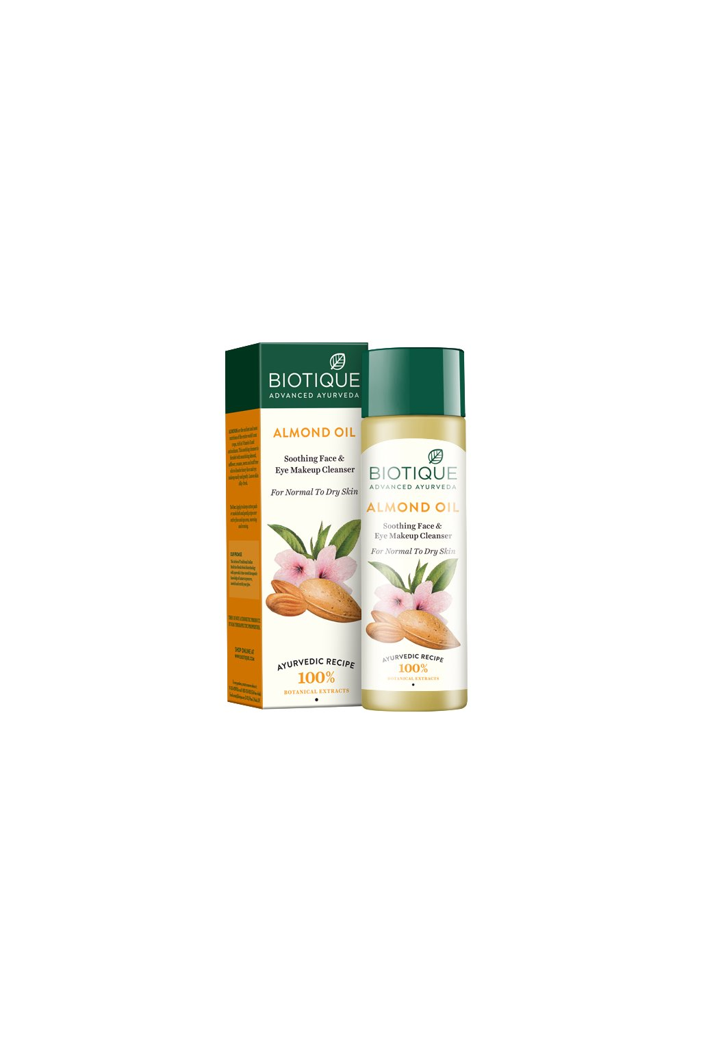 Almond oil sooting face and eye make up cleanser 1