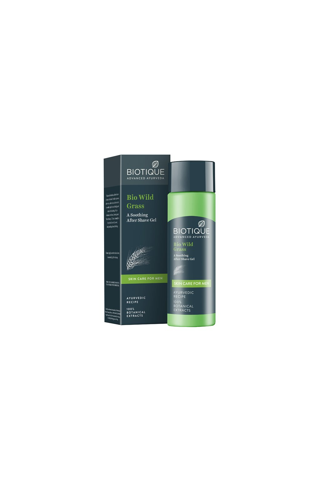 Bio wild grass skin care for men 1