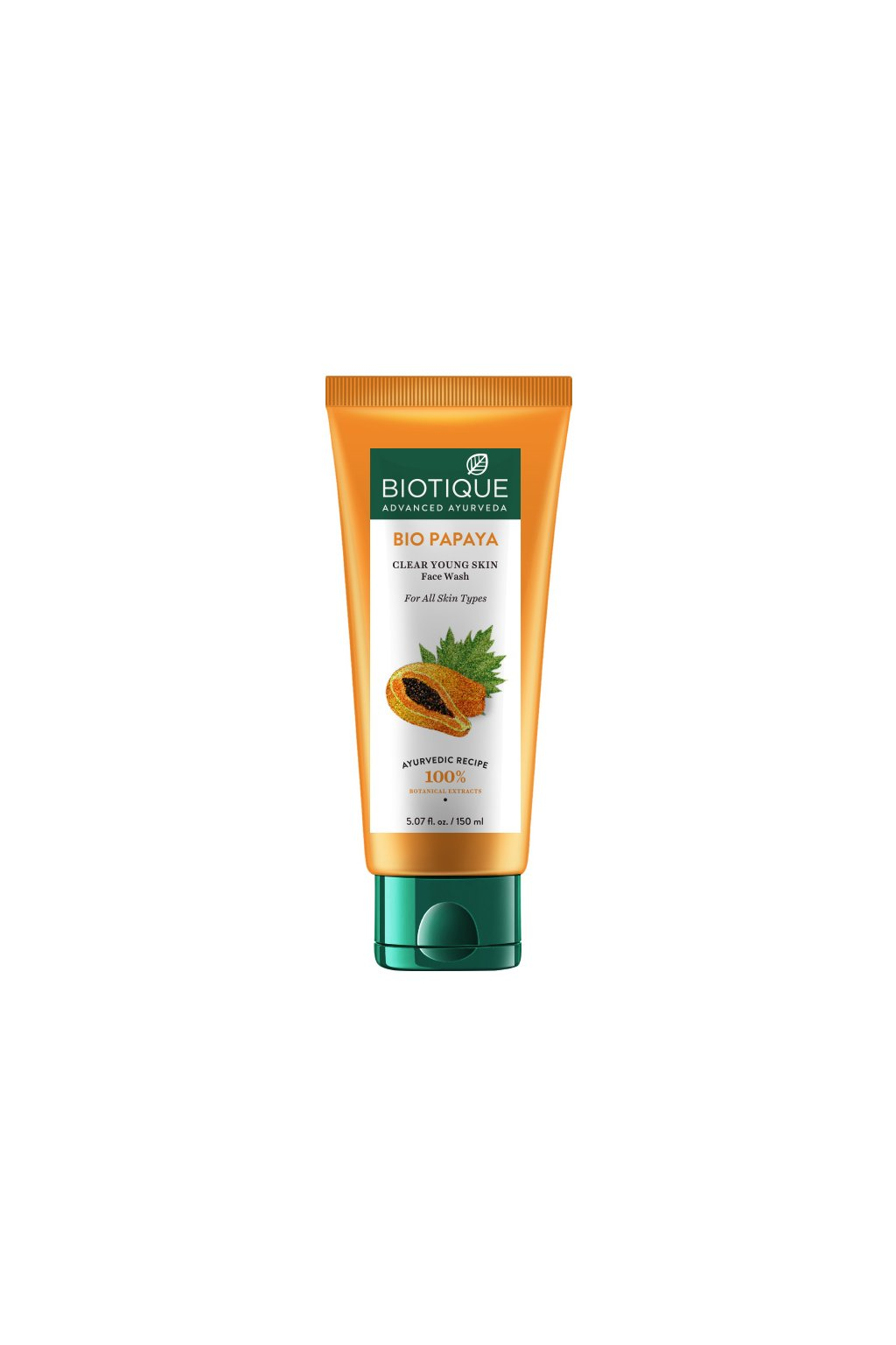Bio papaya face scrub – 150 ml[3436]