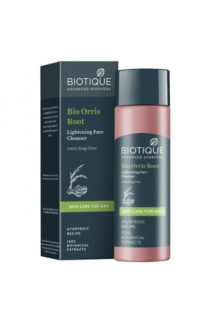 Bio orris root lightening face cleanser 120 ml 3