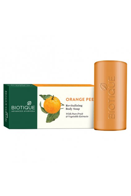 Orange pee revitalizing body soap 1