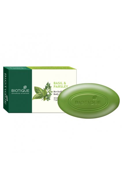 Basil and prasley revitalizing body soap 75g 2