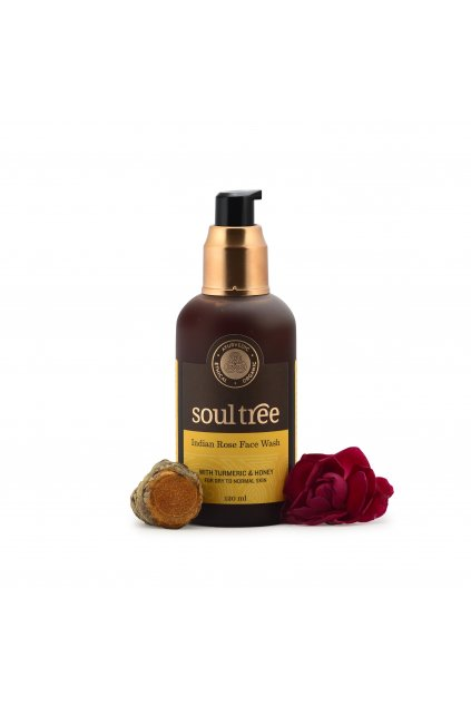 indian rose face wash