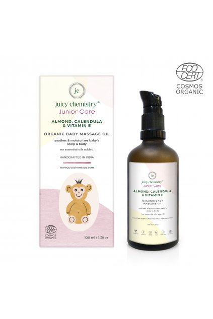 Almond,calendula new[2191]sootes and moisturizes babys scalp and body