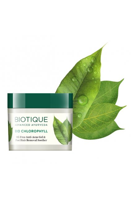 Bio chlorophyll oil free anti acne gel post hair removal soother 2