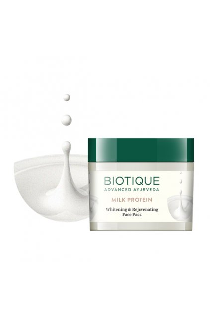 Bio milk protein whitening and rejuvenating face pack 3