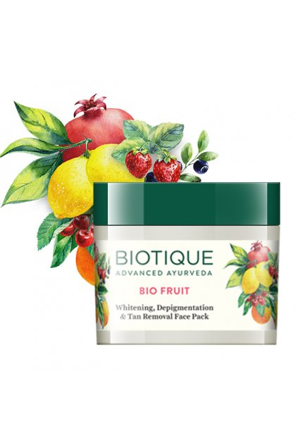 Bio fruit whitening, depigmentation and tan removal face pack2