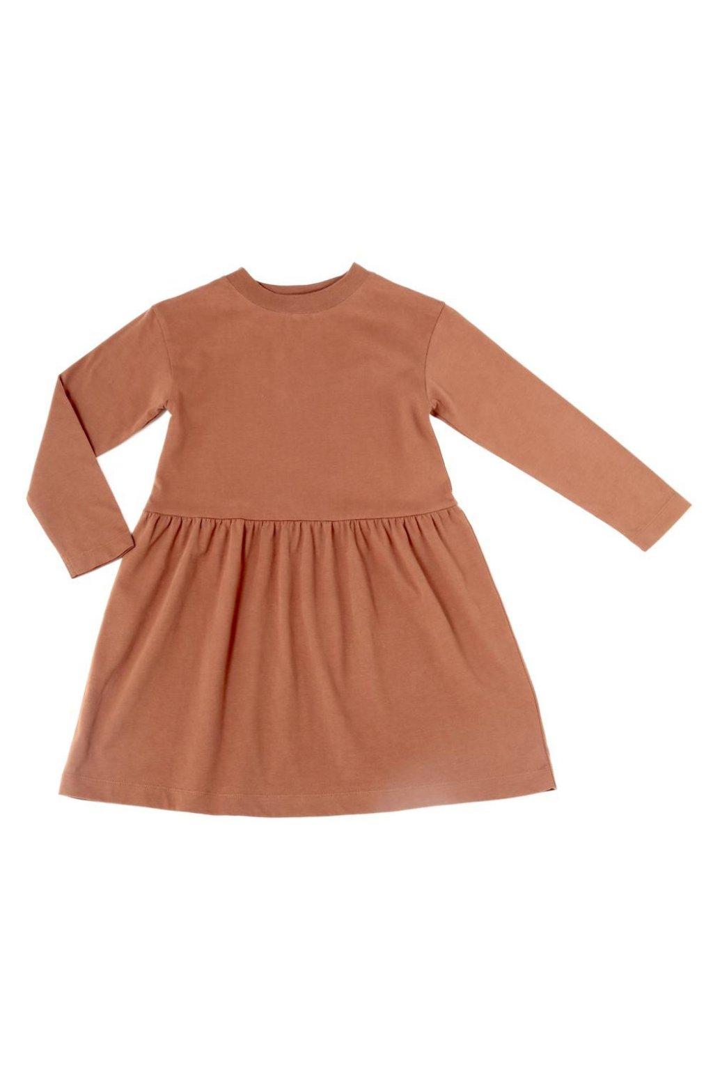 SPINN-AROUND DRESS - CARAMEL COOKIE