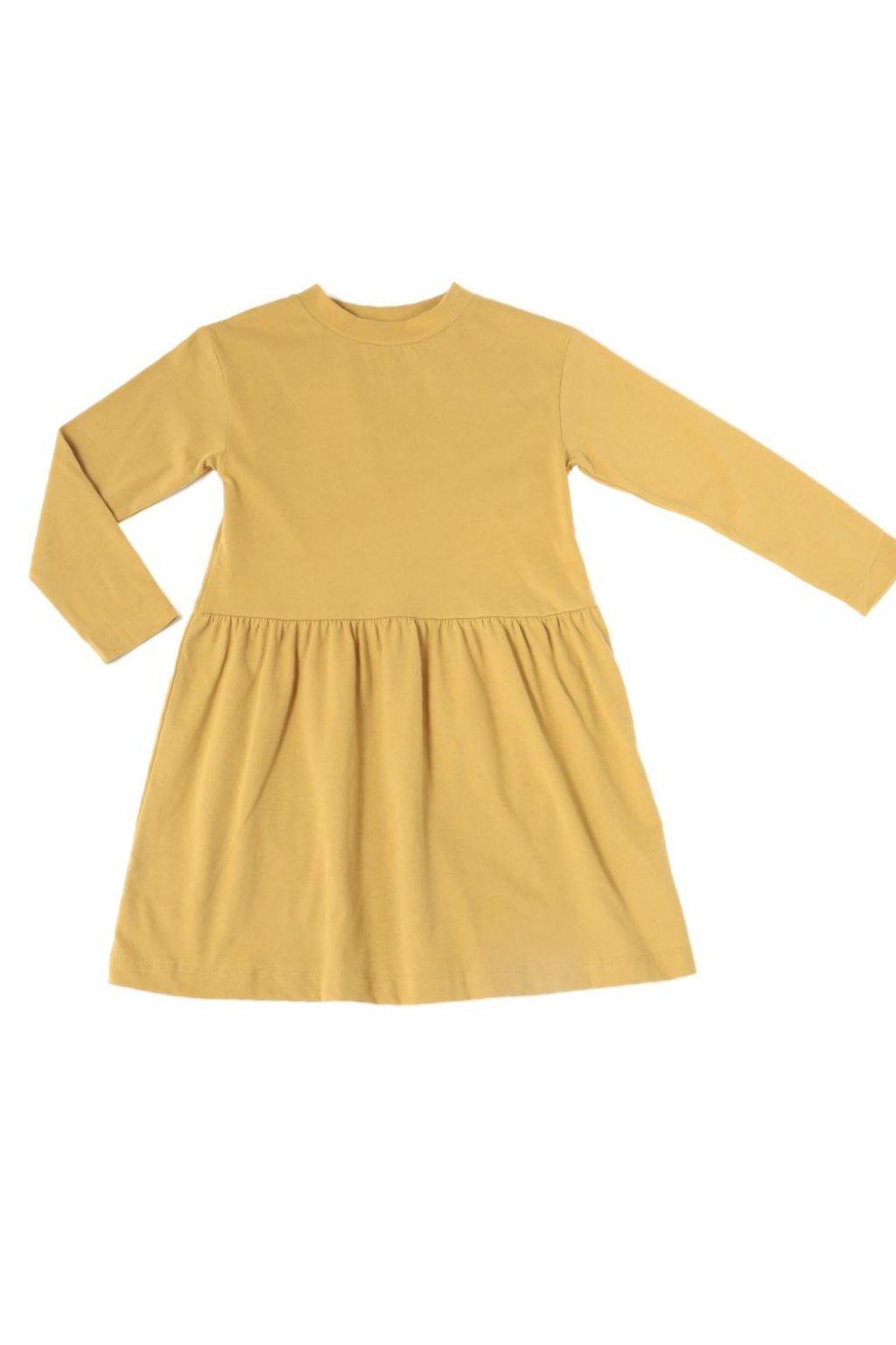 SPINN-AROUND DRESS - HONEY GOLD