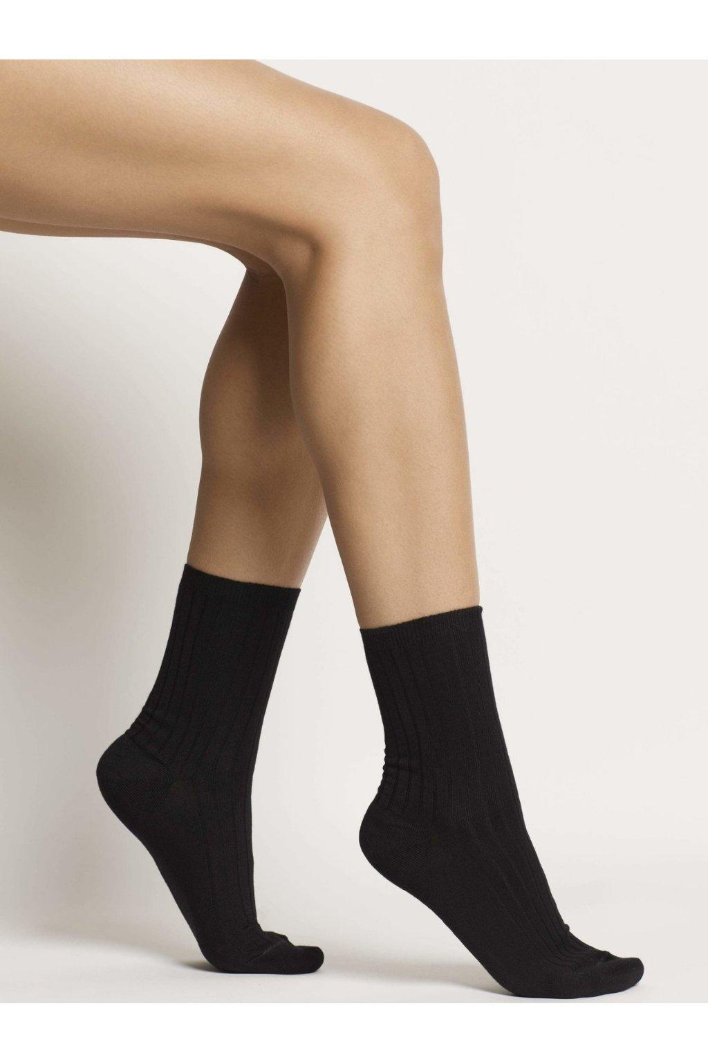 ORGANIC COTTON SOCKS - BLACK