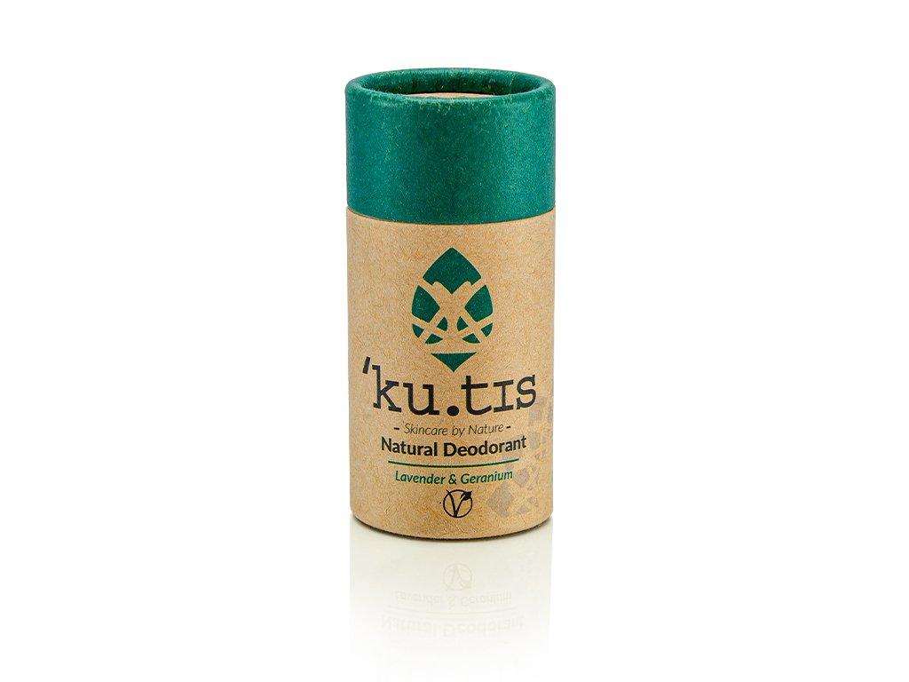´KU.TIS Přírodní deodorant Levandule Pelargonie Vegan 55g