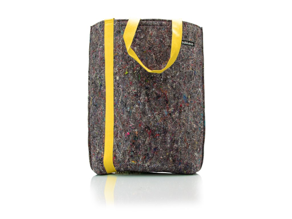 Sobieco taška pres rameno výška žlutá
