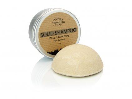 Three Hills Soap přírodní šampon Maca peruánská s rozmarýnem před.psd