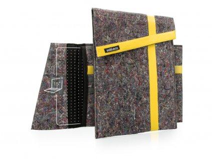 Sobieco obal na notebook 15S obojí žlutá