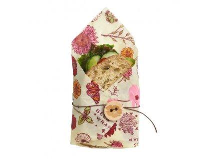 Bees wrap vegan sandwich 1