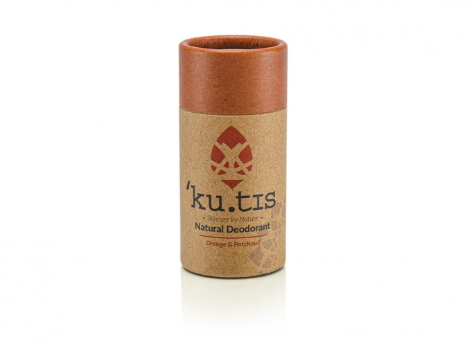 ´KU.TIS Přírodní deodorant Pomeranč & Pačule s včelím voskem - 55g