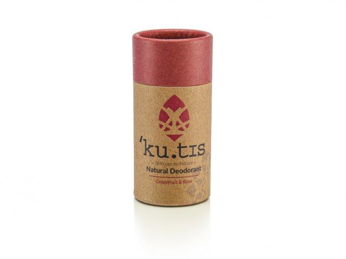 ´KU.TIS Přírodní deodorant Růže Grapefruit s včelím voskem 55g