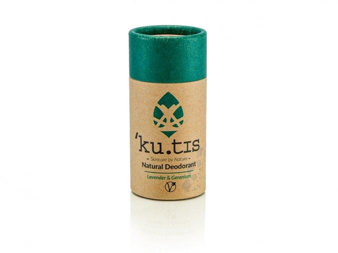 ´KU.TIS Přírodní deodorant Levandule & Pelargonie Vegan - 55g