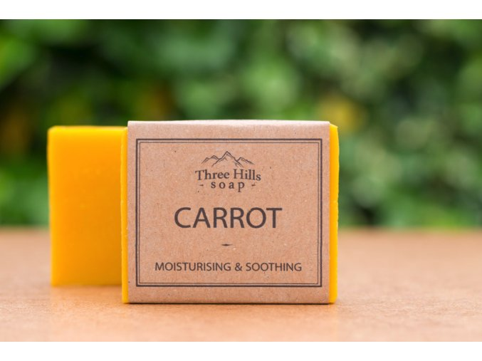 three hills soap carrot