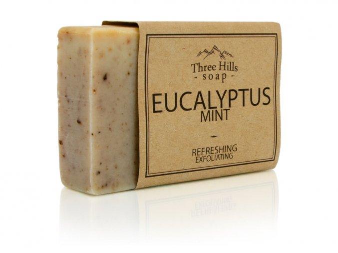 Three Hills Soap přírodní mýdlo eukalyptus a máta